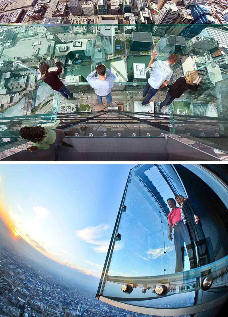 17 Tourist Activities That Would Be A Nightmare For People With A Fear Of Heights // Skydeck - Chicago, Illinois