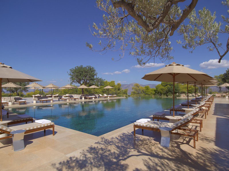 15 Photos Of The Picturesque Amanzoe Hotel That Has Views Of The Aegean Sea