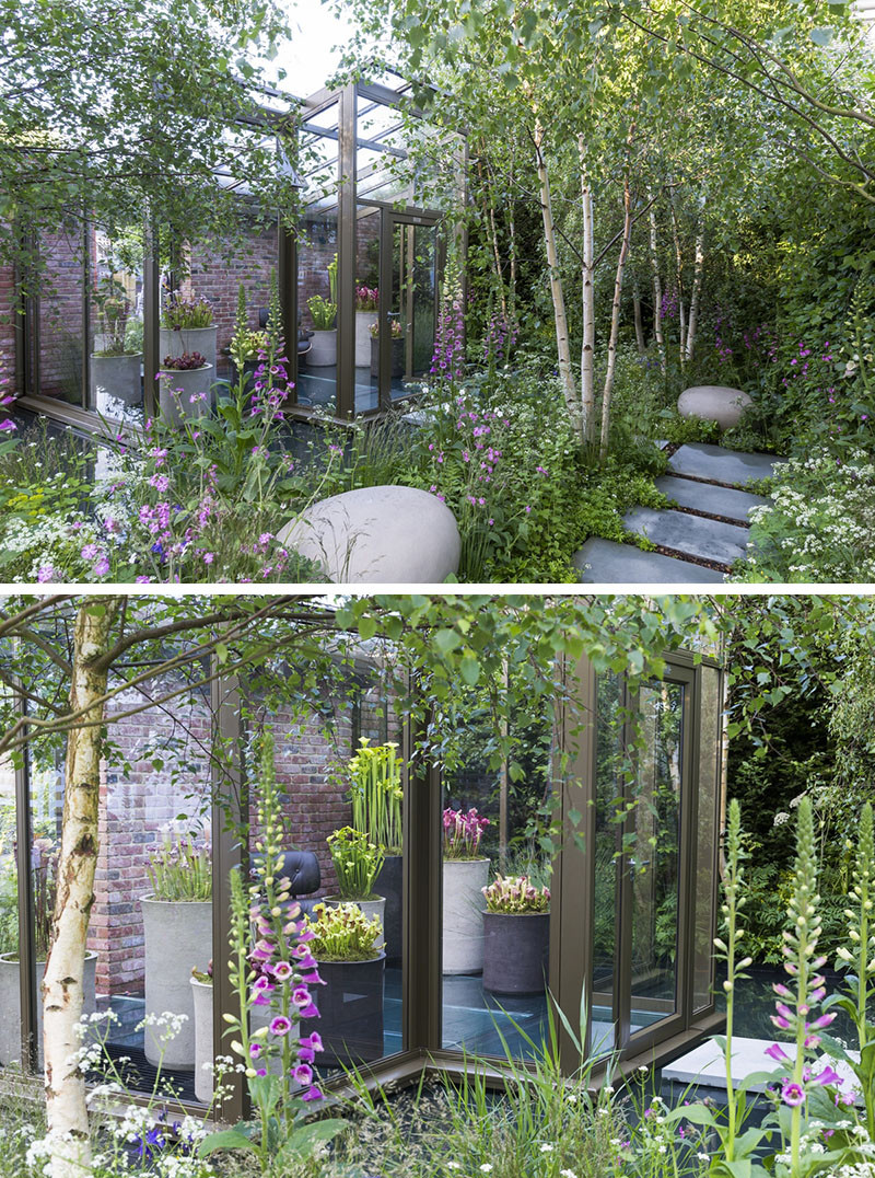 12 Inspirational Garden Designs From The 2016 Chelsea Flower Show // The Hartley Botanic Garden, designed by Catherine MacDonald.