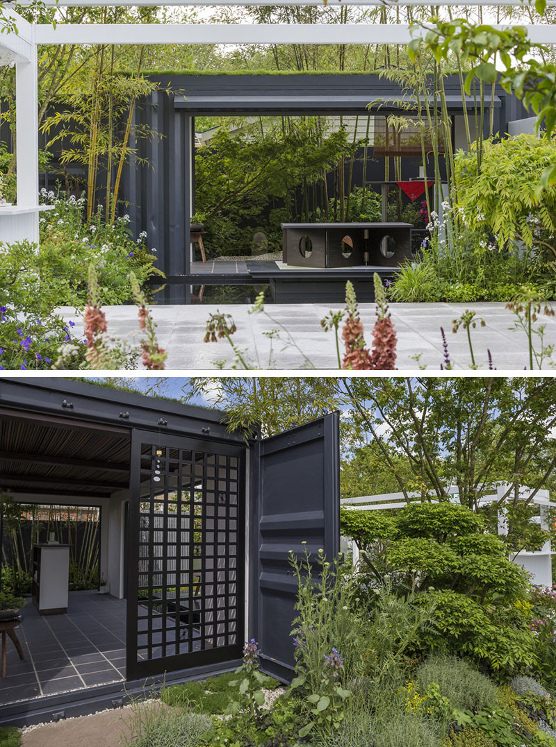 12 Inspirational Garden Designs From The 2016 Chelsea Flower Show // The Watahan East & West Garden, designed by Chihori Shibayama and Yano Tea.