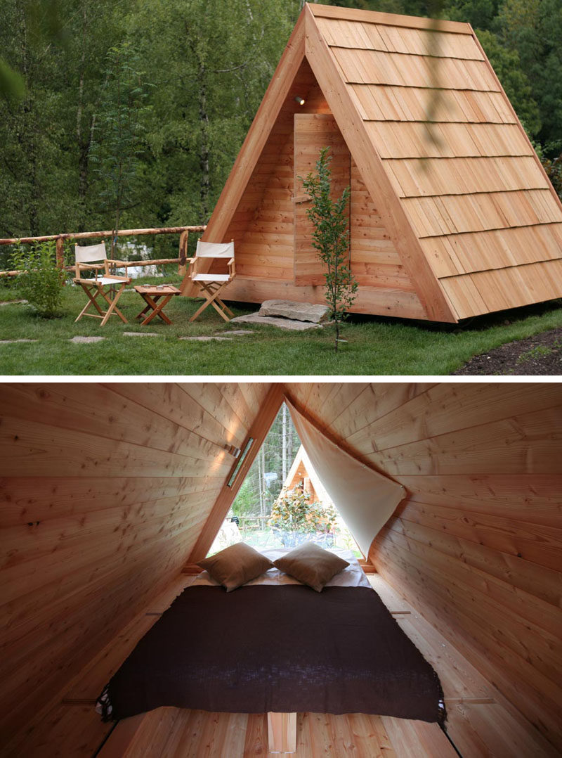 10 Glamping Destinations For People Who Want To Go Camping But Need The Luxuries Of A Hotel // Gozdne Vile Glamping - Lake Bled, Slovenia
