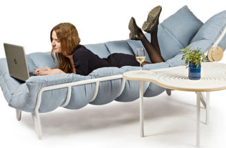 A Student Created This Lounger That's Designed To Wrap Around You