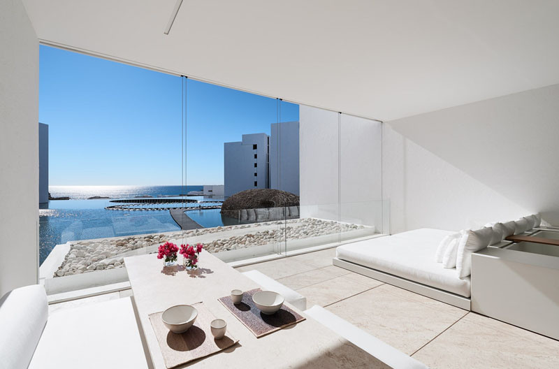 16 Pictures Of The Most All White Minimalist Hotel You Will Ever See