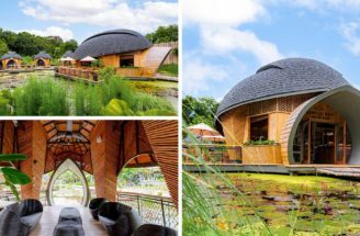 Turtle Inspired Cabin Designs Are A Feature At This Eco-Lodge In Thailand