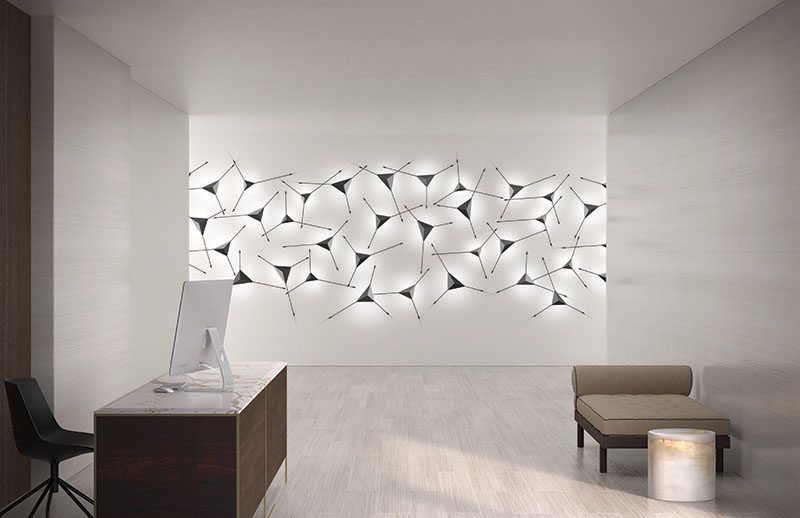 Lighting Ideas - Lighting company SONNEMAN—A Way of Light, has created Abstract, a modern wall sconce that combines light and art. #Lighting #WallSconce #LightingIdeas #WallLight #HomeDecor #Decor