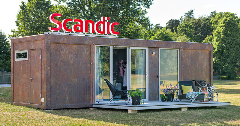 Scandic To Go, a mobile hotel room
