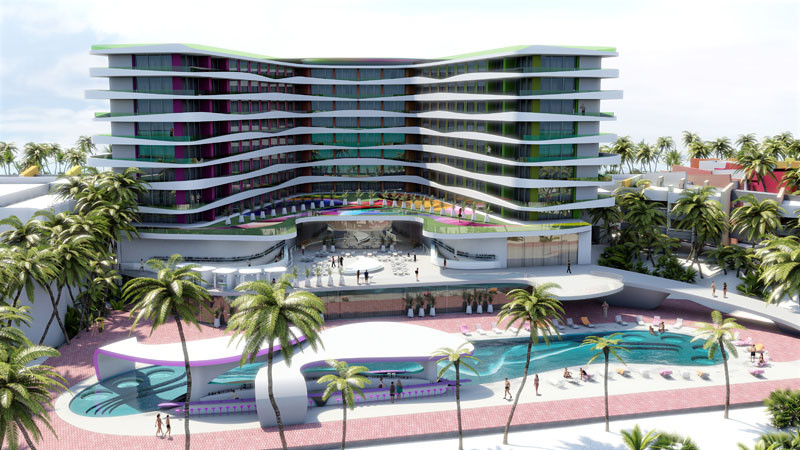 This Cancun Resort Will Be Getting A Make-Over Designed By Karim Rashid