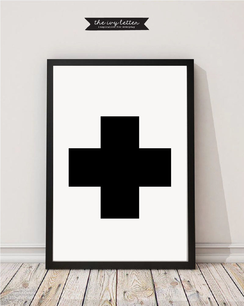 Gift Idea - Typography Art Prints For People Who Love Fonts, Letters & Symbols