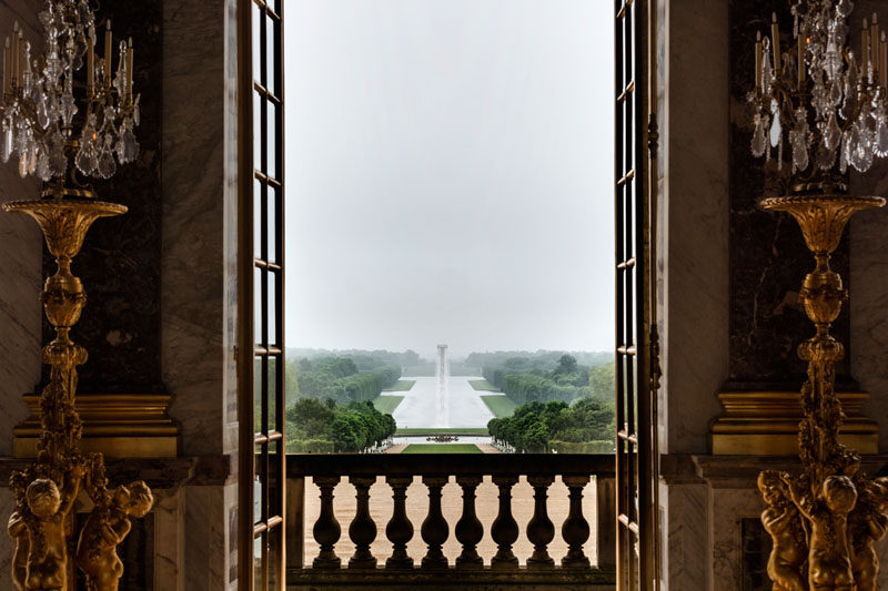 Olafur Eliasson Has Created A Giant Waterfall At The Palace Of Versailles In France