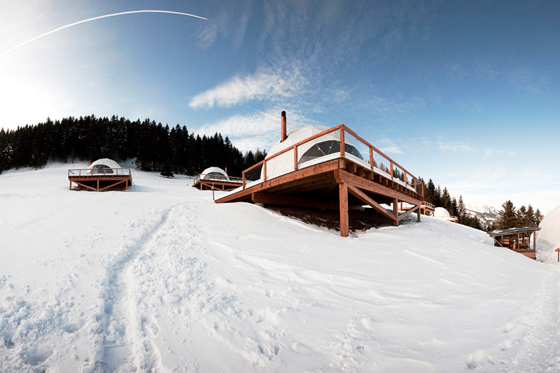 Have a look inside this pod hotel in the Swiss Alps